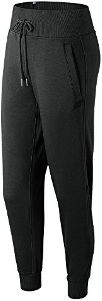 New Balance WP81552 Pantalones Deportivos, Mujer, Negro(BlackBK ...