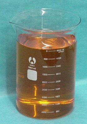 Glass Beaker: 5000ml Borosilicate 5 Liter