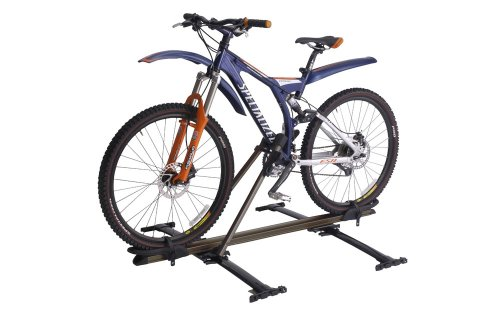 Inno Locking Upright Rooftop Bike - Locking Bike Roof Rack