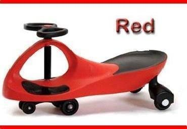 Blazing Red Rolling Coaster the Wiggling Wiggle Race Car Premium Scooter by Kids Motor Store (Image #3)