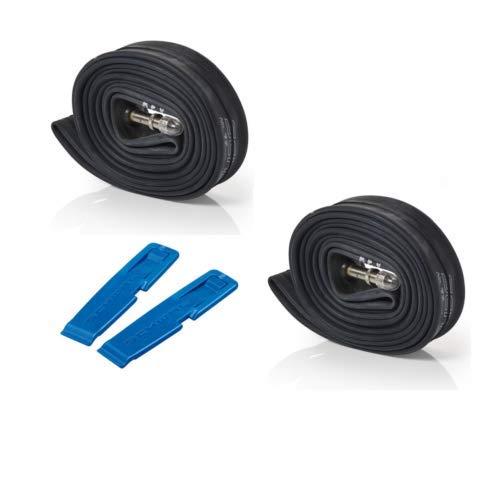 - Schwalbe AV17 Bundle of 2 Tubes and 2 Tyre Levers - 700 x 28-45c/28 27