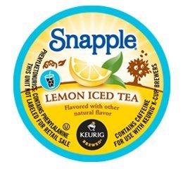 SNAPPLE LEMON ICED TEA 44 K CUP PACKS by Snapple
