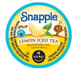 SNAPPLE LEMON ICED TEA 44 K CUP PACKS