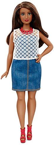 Costume Barbie Doll Brunette (Barbie Fashionistas Dolled Up Denim)