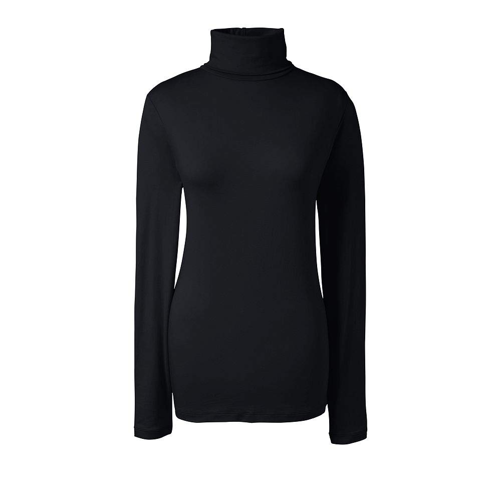 6387a10e654d07 Lands  End Women s Tall Lightweight Fitted Turtleneck Layering at Amazon  Women s Clothing store