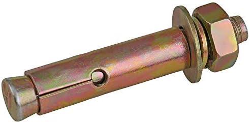 Length : 100mm, Size : M12 External expansion screw expansion bolt tension explosion screw explosion screw M6 M8 M10 M12 5PCS
