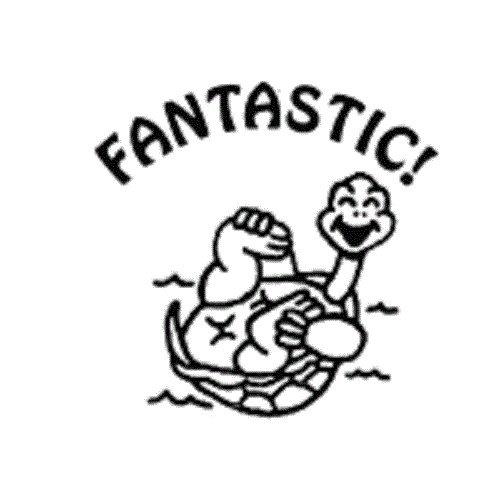 Center Enterprise CEJ9883'Teacher Fantastic TURTL' Jumbo Stamp Center Enterprises Inc.