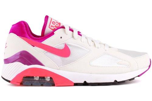 Mens Flex Supremo Tr3 antracita / blanco / negro de zapatos de reproducción 11 con nosotros Summit White / Laser Crimson-Magenta