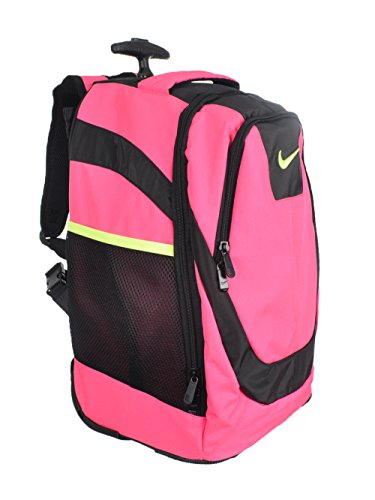 - Nike Accessories Rolling Laptop Backpack (Hyper Pink)