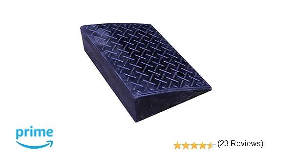 PrimeMatik - Rampa de goma 485 x 325 x 130 mm: Amazon.es: Bricolaje y herramientas
