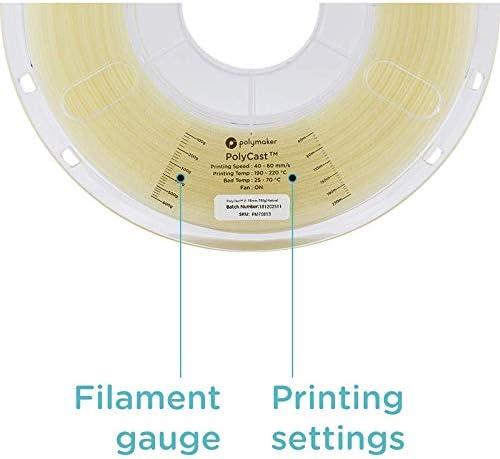 Polymaker PolyCast Filamento de Impresora 3D, diseñado para ...