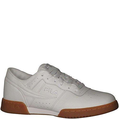 Fila Men's Original Fitness Wht/Wht/Gum Lifestyle Shoe 10.5 Men US