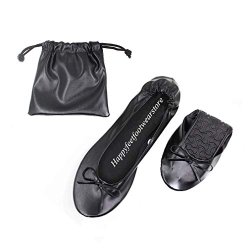 Femme Feet Black Hfp01 With Happy Ballet Bag P4wqtzAz