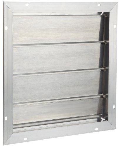 Gable Vent Louver (Broan 433 Automatic Shutter for 353 and 35316 Gable Mount Attic Ventilator)
