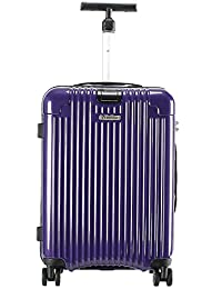 Diplomat Trolley Case Luggage Expandable Spinner Suitcase, Purple 24 Inch TC-15153