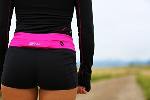 FlipBelt Level Terrain Classic Edition Waist Pack, Hot Pink, XX Large