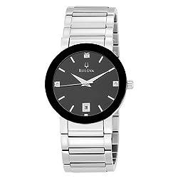 Bulova Men's 96D18 Stainless Steel Watch