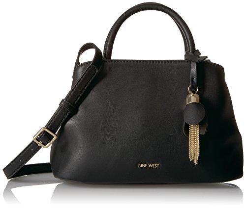 Nine Mini Bag West Mini (Nine West Viktoria Mini Satchel Crossbody, Black)