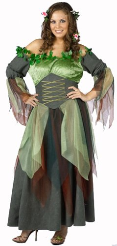 Mother Earth Halloween Costume (Plus Size Mother Nature Adult Costume)