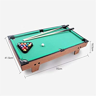 Mesa De Billar Pool con 2 × Señales, 16 × Bolas De Billar, Accesorios Mini Set De Deporte De Billar for Interior Al Aire Libre (Color : L): Amazon.es: Hogar