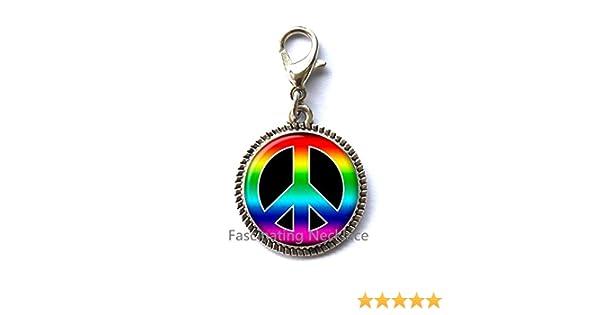 Hippie Mens Jewelry,AE0024 Peace Key Ring Peace Sign Keychain Hippie Jewelry Mens Keychain Hippie Key Ring Peace Jewelry Fashion Keychain,Hippie Keychain