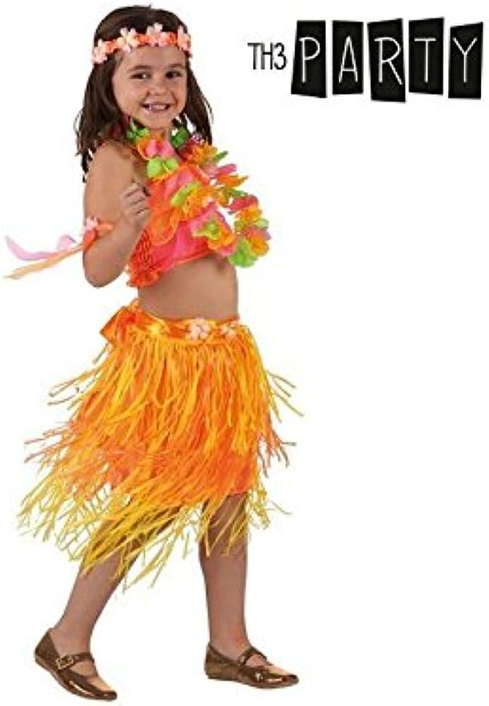 Disfraz para Niños Th3 Party Hawaiana: Amazon.es: Ropa y accesorios