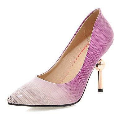 CN35 Heels amp;Amp; Women'S Black Pointed Zormey 5 5 US5 Toe Purple Stiletto Heel UK3 Shoes Dress EU36 Party Peach Evening HdqYwq8