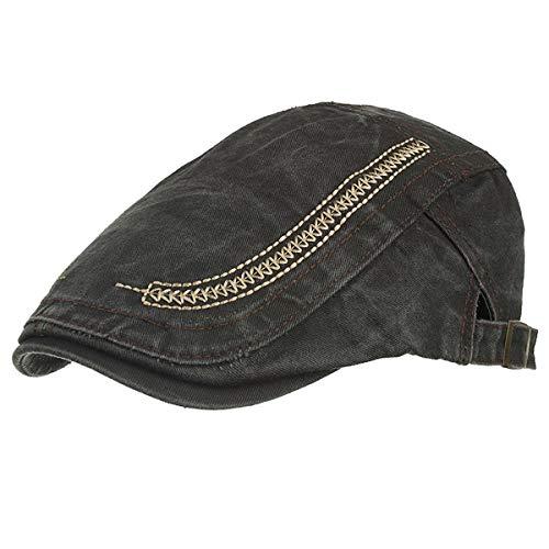 B algodón periódicos Sombreros hat de Gorro GLLH C Lavado de Sombrero de Vendedor qin xY8xqwPT6