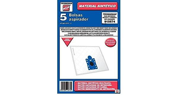 Amazon.com: tecnhogar 915674 – Bag Vacuum Cleaner, White ...