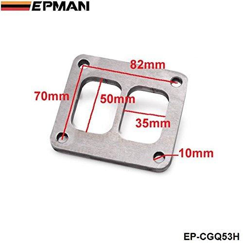 EPMAN - T4 T04 GT45 GT40 Turbine Inlet Gasket Twin Scroll Weld Flange 1/2'' EP-CGQ53H