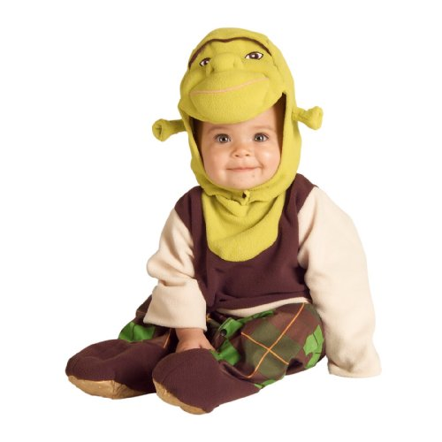Shrek Infant Toddler Costumes - Shrek Baby Infant Costume -