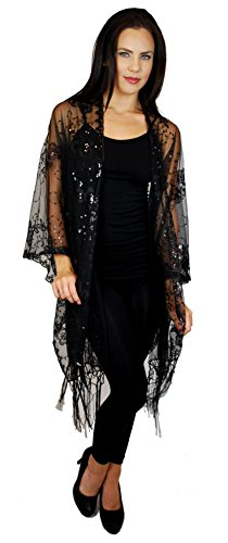 Lace And Beaded Jacket - 4