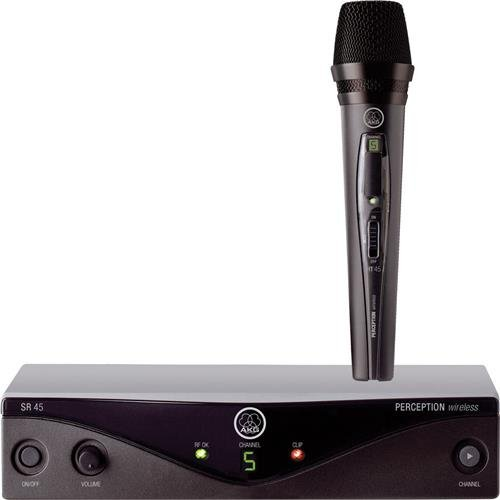 AKG Pro Audio Perception Wireless 45 Vocal Set BD A Wireless Microphone - System Bd
