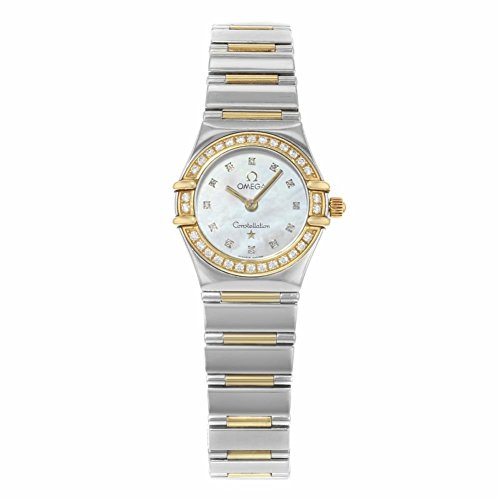 Omega Constellation analog-quartz womens Watch 1365.71 (Certified Pre-owned)