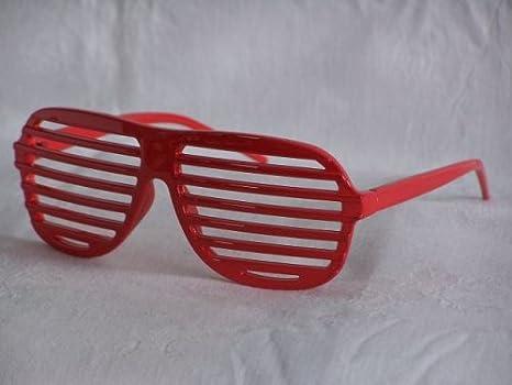 Shutter shades lunettes de soleil rouge pT0023 kanye west w3jzDv5dM