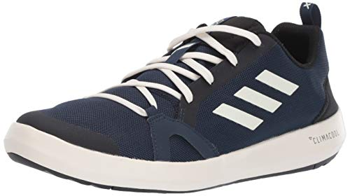 Cola Footwear (adidas outdoor Men's Terrex Summer.RDY Boat Water Shoe, col Navy/Chalk White/Black, 6.5 M US)