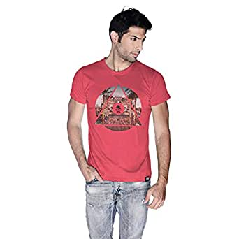 Creo Abu Dhabi T-Shirt For Men - Xl, Pink
