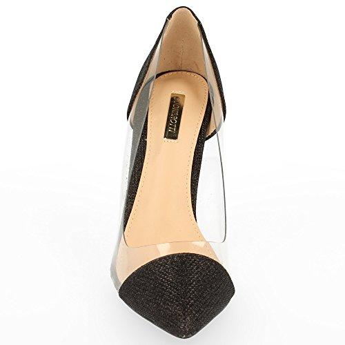 Lovely Zapato de Tacón de Punta Fina Tipo Salón. con Efecto