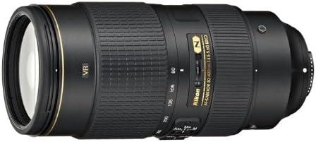 Nikon AF-S FX NIKKOR 80-400mm f.4.5-5.6G ED Vibration Reduction Zoom Lens