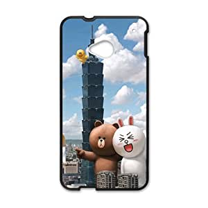 Creative City Cat Cell Phone Case For HTC M7