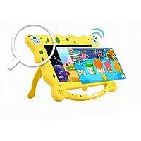 Ainol 7C08- tablet para niños de 7 pulgadas ,Tablet infantil de Android 7.1 RK3126C,regalo para niños, 1GB+8GB con wifi ,doble cámara,tablet de Bob Esponja, juegos educativos) Amarillo