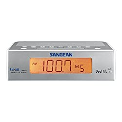Sangean AM/FM Digital Tuning Clock Radio