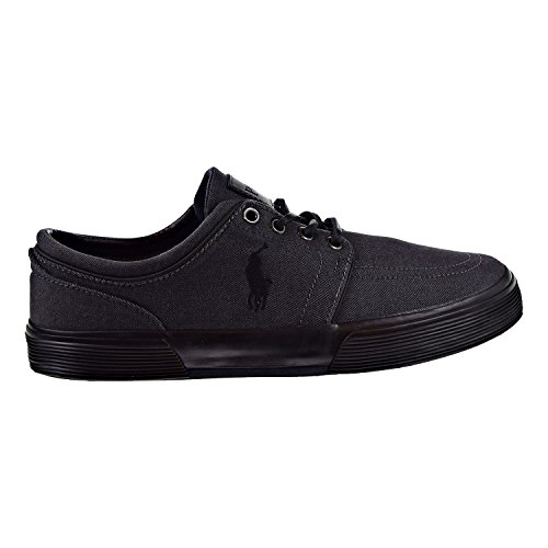 (Polo Ralph Lauren Men's, Faxon Low Sneaker Black 7.5 M)