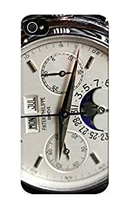 Fireingrass Iphone 5/5s Well-designed Hard Case Cover Patek Philippe Watch Clock Time (4) Protector For New Year's Gift