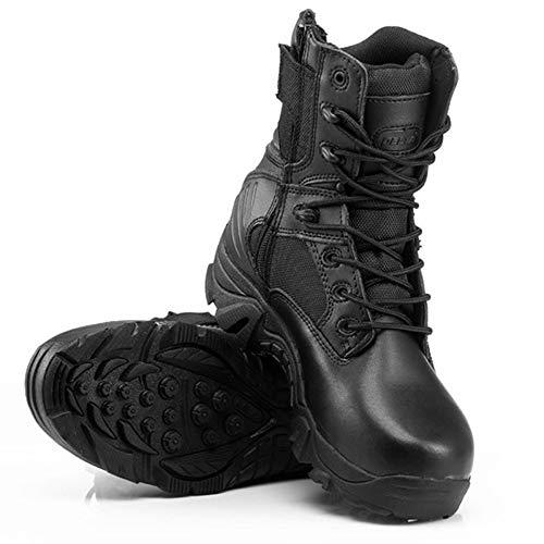 Stivali Uomo Stivali Black High Leggero Sand Desert Tattici Boots da sotto Warm Traspirante Top Armatura Combat Caviglia Wear Antiscivolo rXqqxpd