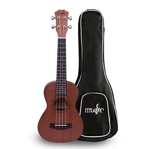 Soprano Ukulele Sapele Beginners Designed product image