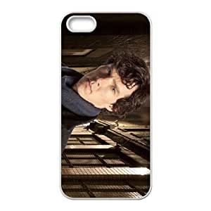 Sherlock iPhone 5 5s Cell Phone Case-White Jyrbo