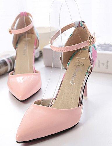 GGX/Damen Schuhe PU Sommer Heels Heels Casual Stiletto Heel andere grün/pink/weiß white-us7.5 / eu38 / uk5.5 / cn38