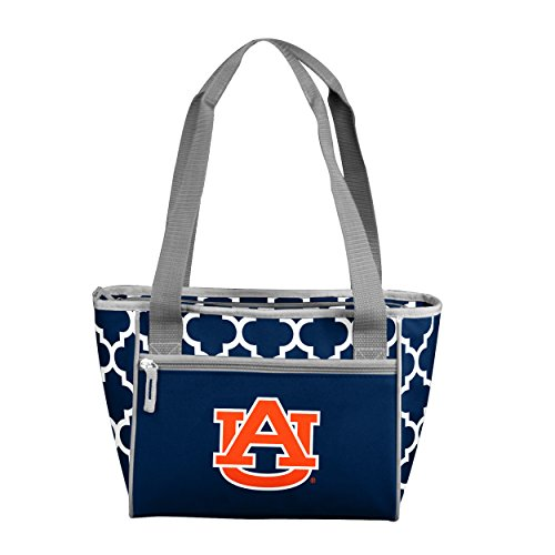 Logo Brands NCAA Auburn Tigers 16 Cooler Tote, One Size, Navy from Logo Brands