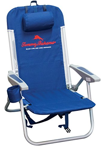 (Tommy Bahama Mesh Trim with Cooler Backpack Chair)